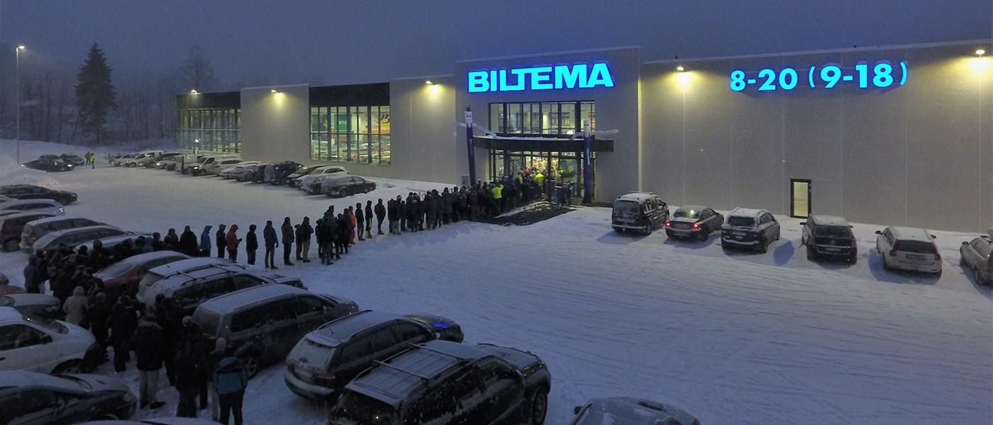 Bra Nytt Biltema-varuhus öppnat i norska Gjøvik - Biltema.se JQ-83