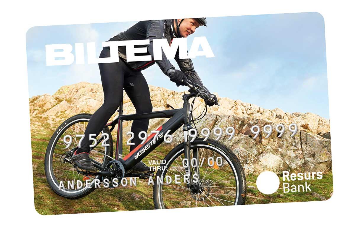 Omtalade Biltema Card - Biltema.se CU-66